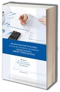 Sprawozdawczość finansowa w systemie - okładka książki