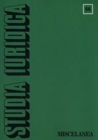 Studia Iuridica nr 66 - okładka książki