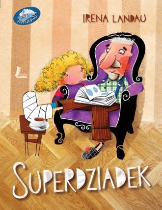 Superdziadek - okładka książki