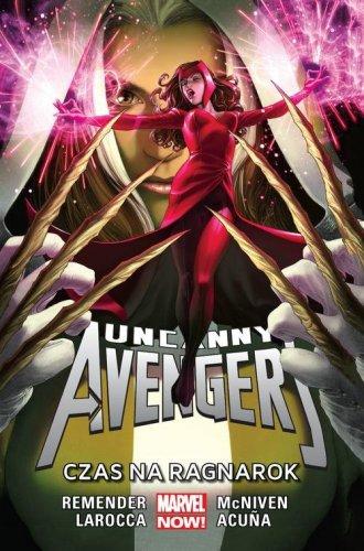 Uncanny Avengers. Czas na Ragnarok - okładka książki
