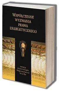 Współczesne wyzwania prawa energetycznego - okładka książki