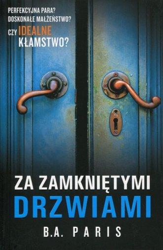 Za zamkniętymi drzwiami - okładka książki
