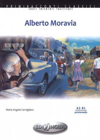 Alberto Moravia książka (+ CD) - okładka książki