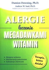 Alergie. Leczenie megadawkami witamin - okładka książki