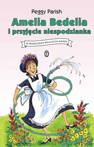 Amelia Bedelia i przyjęcie niespodzianka - okładka książki
