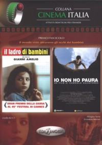 Collana Cinema Italia Non ho paura-Ladro di bambini - okładka książki