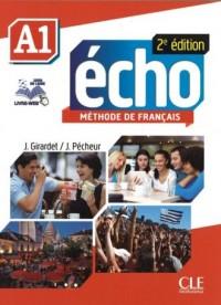 Echo A1 2ed podręcznik (+ DVD) - okładka książki
