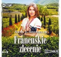 Francuskie zlecenie - pudełko audiobooku