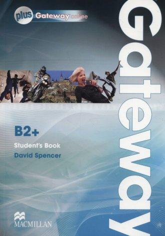 Gateway B2+ Students Book +Online - okładka podręcznika