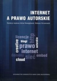 Internet a prawo autorskie - okładka książki