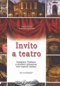 Invito a teatro - okładka książki
