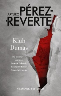 Klub Dumas - okładka książki
