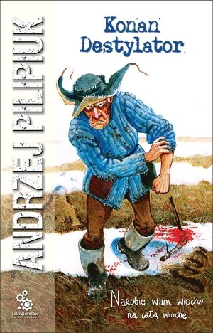 Konan Destylator - okładka książki