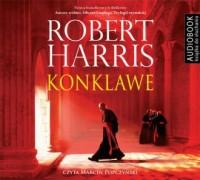 Konklawe - Robert Harris - pudełko audiobooku