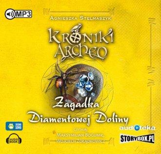 Kroniki Archeo cz. 5. Zagadka Diamentowej - pudełko audiobooku