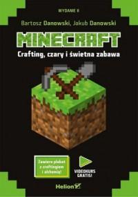 Minecraft. Crafting czary i świetna zabawa - okładka książki