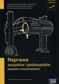 Naprawa zespołów i podzespołów - okładka podręcznika