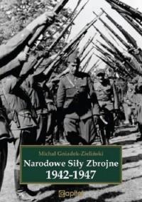 Narodowe siły zbrojne 1942-1947 - okładka książki