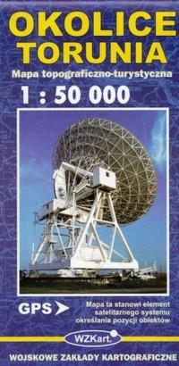 Okolice Torunia 1:50 000 - okładka książki