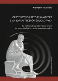 Oratorstwo kultury retorycznej - okładka książki