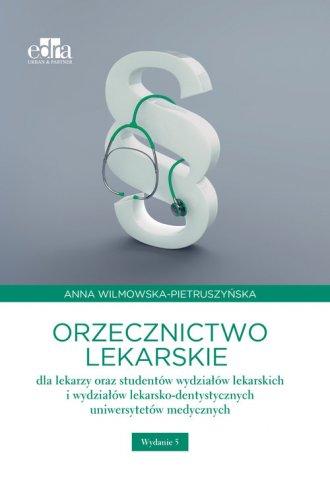 Orzecznictwo lekarskie dla lekarzy - okładka książki