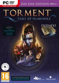 PC Torment Tides of Numenera PC. - pudełko programu