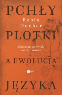 Pchły, plotki a ewolucja języka. - okładka książki