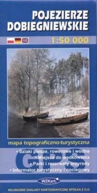 Pojezierze Dobiegniewskie 1:50 000 - okładka książki