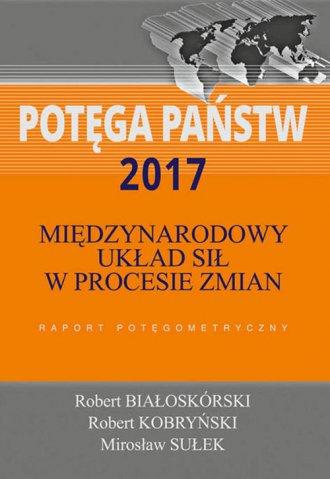 Potęga państw 2017. Międzynarodowy - okładka książki