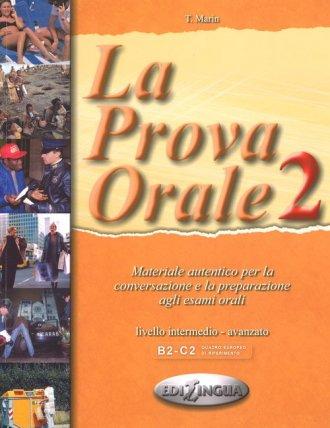 Prova Orale 2 podręcznik medio - okładka podręcznika