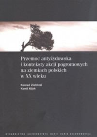 Przemoc antyżydowska i konteksty - okładka książki