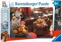 Puzzle 300 XXL. Sekretne życie zwierząt domowych - okładka książki