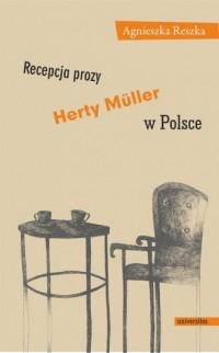 Recepcja prozy Herty Muller w Polsce - okładka książki