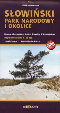 Słowiński Park Narodowy i okolice 1:50 000 - okładka książki