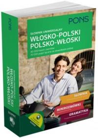 Słownik uniwersalny włosko-polskipolsko-włoski - okładka książki