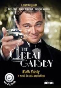 The Great Gatsby w wersji do nauki - okładka książki
