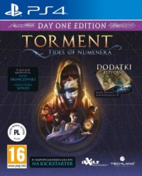 Torment Tides of Numenera PS4. - pudełko programu