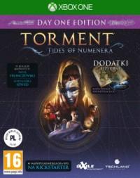 Torment Tides of Numenera X1. X1 - pudełko programu