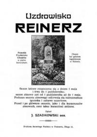 Uzdrowisko Reinerz - okładka książki