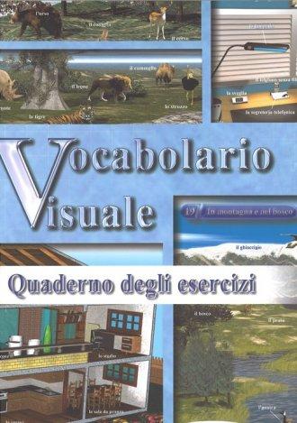 Vocabolario visuale. Ćwiczenia - okładka podręcznika