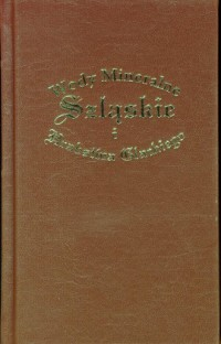 Wody Mineralne Szląskie i Hrabstwa Glackiego - okładka książki