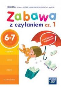 Zabawa z czytaniem cz. 1. 6-7 lat. - okładka podręcznika