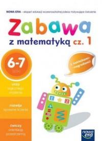 Zabawa z matematyką cz. 1. Szkoła - okładka podręcznika