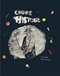 Chore historie - okładka książki