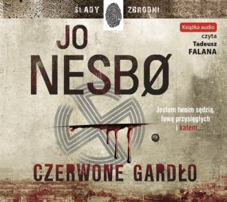 Czerwone Gardło (audiobook CD). - pudełko audiobooku
