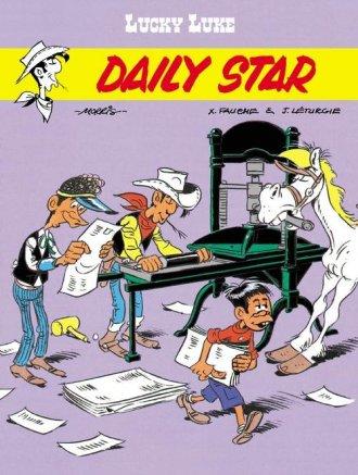 Daily Star. Lucky Luke - okładka książki