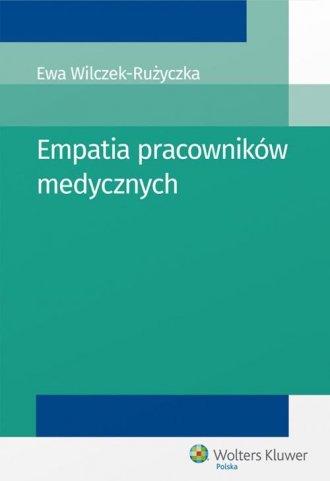 Empatia pracowników medycznych - okładka książki