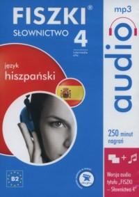 Fiszki audio. Język hiszpański. - pudełko audiobooku