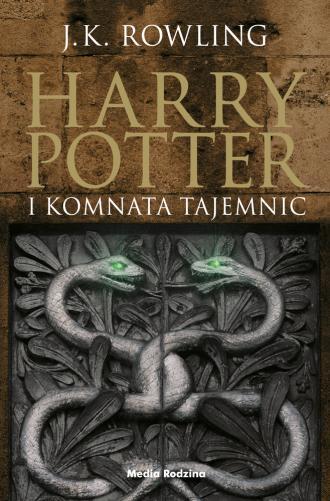 Harry Potter i Komnata tajemnic - okładka książki