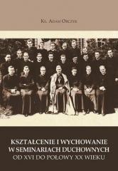 Kształcenie i wychowanie w seminariach - okładka książki